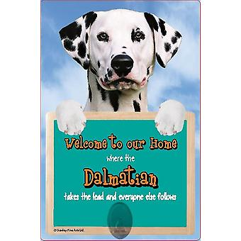 Scottish Collectables Dalmation 3D Lead Hanger Wall Plaque