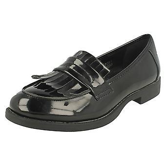 Damen-Spot auf Loafer Schuhe