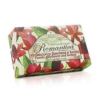 Nesti Dante Romantica passionale sapone naturale - Fiesole Gillyflower & fucsia - 250g/8.8 oz