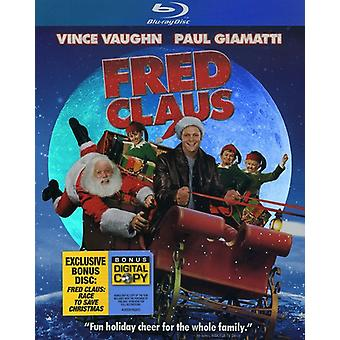 Fred Claus [BLU-RAY] USA import
