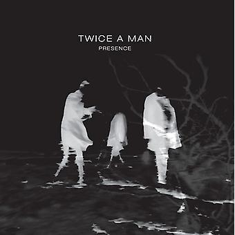 To gange en mand - tilstedeværelse [Vinyl] USA importerer