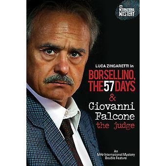 Giovani Falcone: The Judge/Borsellino: 57 Days [DVD] USA import