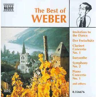 C.M. Von Weber - importazione USA The Best di Weber [CD]