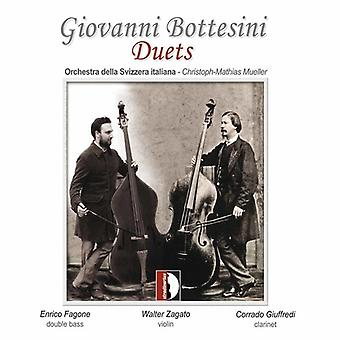 Fagone/Zagato - Giovanni Bottesini: Duets [CD] USA import
