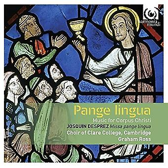 Choir of Clare College Cambridge - Pange Lingua: Music for Corpus Christi [CD] USA import