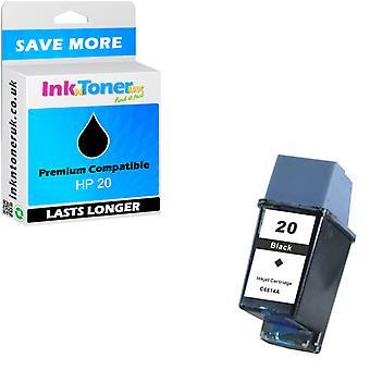Kompatibilní kazeta HP 20 Black C6614DE pro HP Deskjet 648