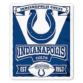 Indianapolis Colts NFL Northwest Fleece Throw