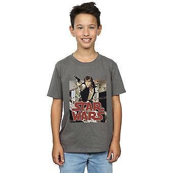 Star Wars Boys Han Solo Shooting T-Shirt