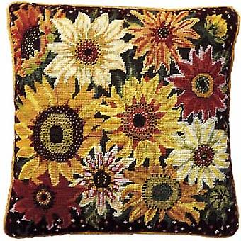 Sunflower Harvest Needlepoint Kit