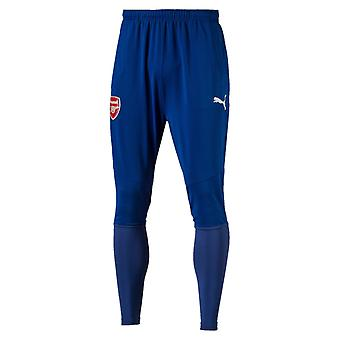 2017-2018 Arsenal Puma Fitted Training Pants with Pockets (Limoges) - Kids