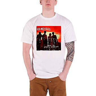 Official Libertines T Shirt Anthems For Doomed Youth Mens White