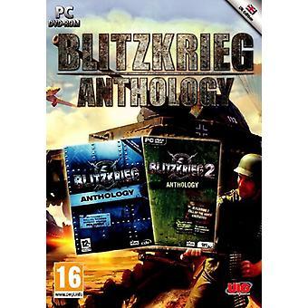 Blitzkrieg antologi (PC DVD)-ny