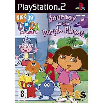 Dora The Explorer Journey To The Purple Planet (PS2) - As New