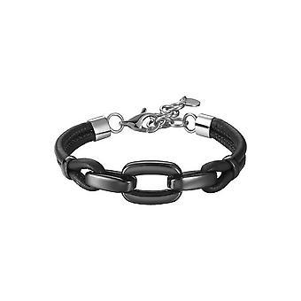ESPRIT women's textil armband rostfritt stål Marin svart ESBR11609A170