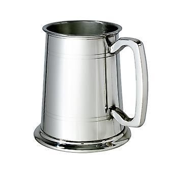 Gefütterte Standardglas Base 1 Pint Zinn Tankard