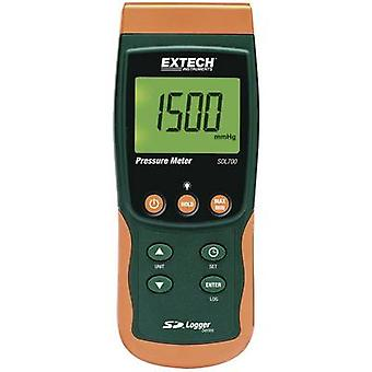 Manometer Extech SDL700 Gas, flüssige 0,002 - 20 Bar