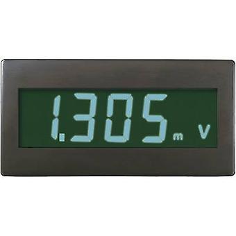 Digital rackmontert meter VOLTCRAFT DVM330GN ±199.9 mV