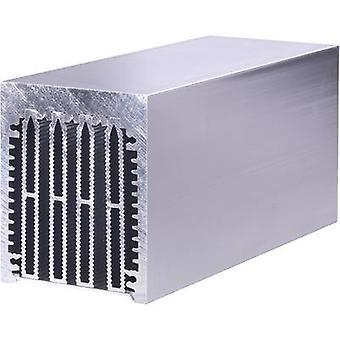 Fischer Elektronik LA 6 150 AL Pin heat sink 0.3 K/W (L x W x H) 150 x 75 x 62 mm