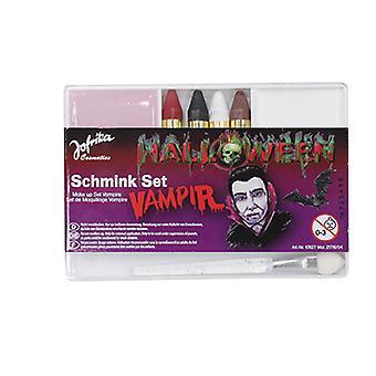 Conjunto de maquiagem vampiro
