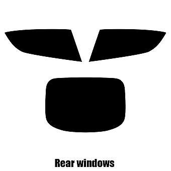 Pre cut window tint - Aston Martin Rapide - 2010 to 2013 - Rear windows