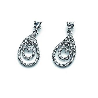 Oliver Weber Post Earring Beauty Rhodium Crystal