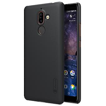 NILLKIN Nokia 7 Plus frosted shell hard-black