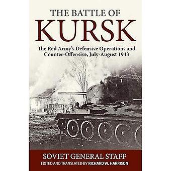 Slaget vid Kursk: Röda arméns defensiva operationer och motverka kränkande, juli-augusti 1943