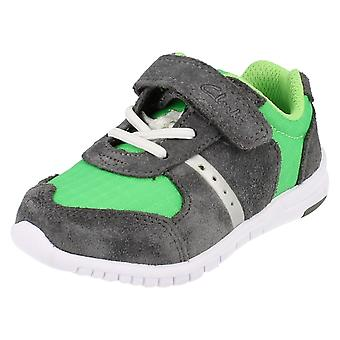 Boys Clarks Casual Trainers Azon Flex