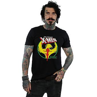 Marvel Men's X-Men Phoenix Circle T-Shirt