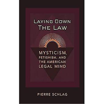 Fixant la loi: mysticisme, fétichisme et l'esprit juridique américaine (Amérique critique)