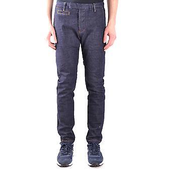 Brian Dales Ezbc126009 Men's Blue Cotton Jeans