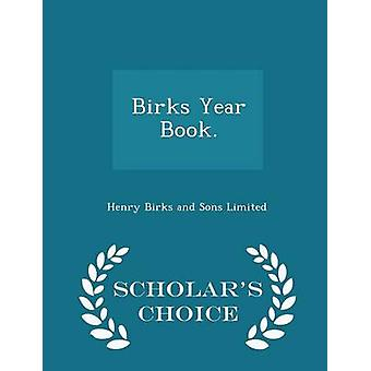 كتاب السنة بيركس.  الطبعة اختيار العلماء بيركس هنري وأولاده المحدودة