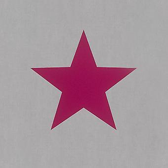 Grey Pink Star Wallpaper Sterren Girls Children's Slaapkamer Tieners Modern Rasch
