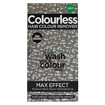 Effet Max incolore de la couleur des cheveux
