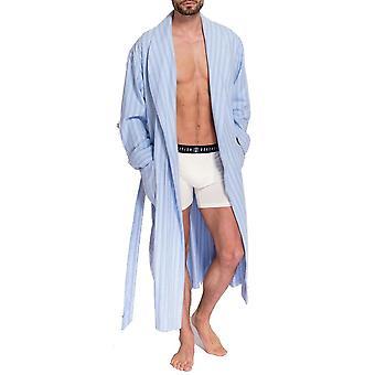 British Boxers Westwood Blue Stripe Men's Robe