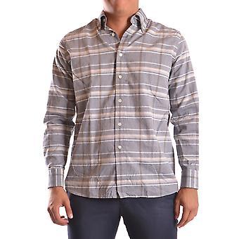 Gant Ezbc144057 Men's Grey Cotton Shirt