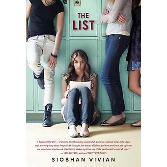 The List by Siobhan Vivian - 9780545169189 Book