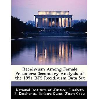 Recidivism Among Female Prisoners - Secondary Analysis of the 1994 Bjs