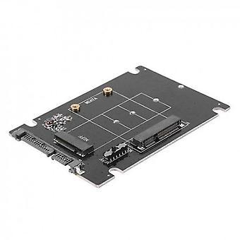 SA207 mSATA Plus M2 (NGFF) to SATA 2 In 1 Combo Adapter