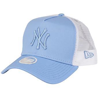 New era Women's Trucker Cap-New York Yankees Sky Blue