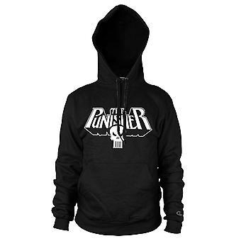 Marvel Punisher logo musta huppari