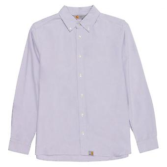 Carhartt Long Sleeve Button Down Shirt, Mauve