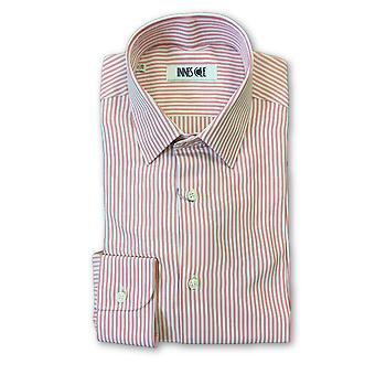 Ingram shirt in pink and white candy stripe