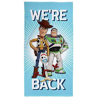 Toy Story 4 Nous sommes de retour serviette de plage
