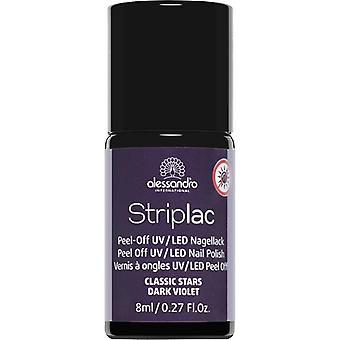 StripLAC Peel Off UV LED Nail Polish - Dark Violet 8ml (45)