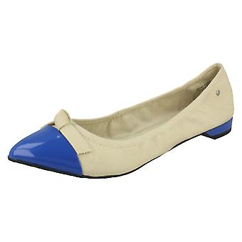 Ladies Rockport Slip On Flats With Bow Detailing Ashika