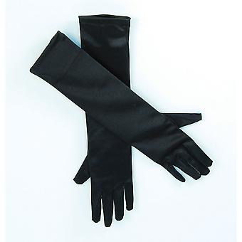 Bristol Novelty Womens/Ladies Satin Feel Long Gloves (1 Pair)