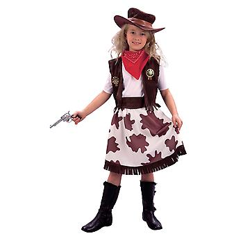Bristol Novelty Childrens Girls Cowgirl Costume