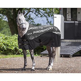 LeMieux Lemieux carbono Horse cooler tapete-preto