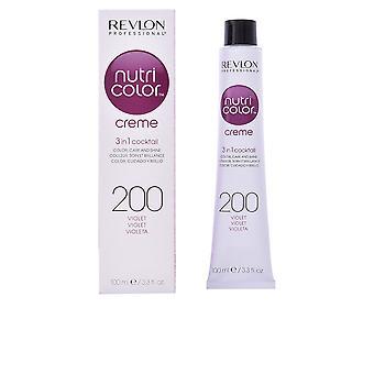 Revlon Nutri Color Creme #200-violetti 100 Ml Unisex